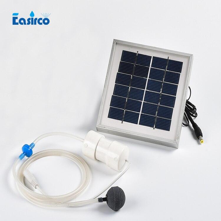 Acheter 2 W L'énergie Solaire pompe à air 2L/MIN pour la culture hydroponique système. Aller à la pêche, en alliage d'aluminium cadre, Livraison gratuite de pump brown fiable fournisseurs