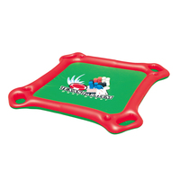 Multicolor Floating Poker Table Seaside Outdoors Waterpark Game Table Novelty Floating Game Toy 1 Set