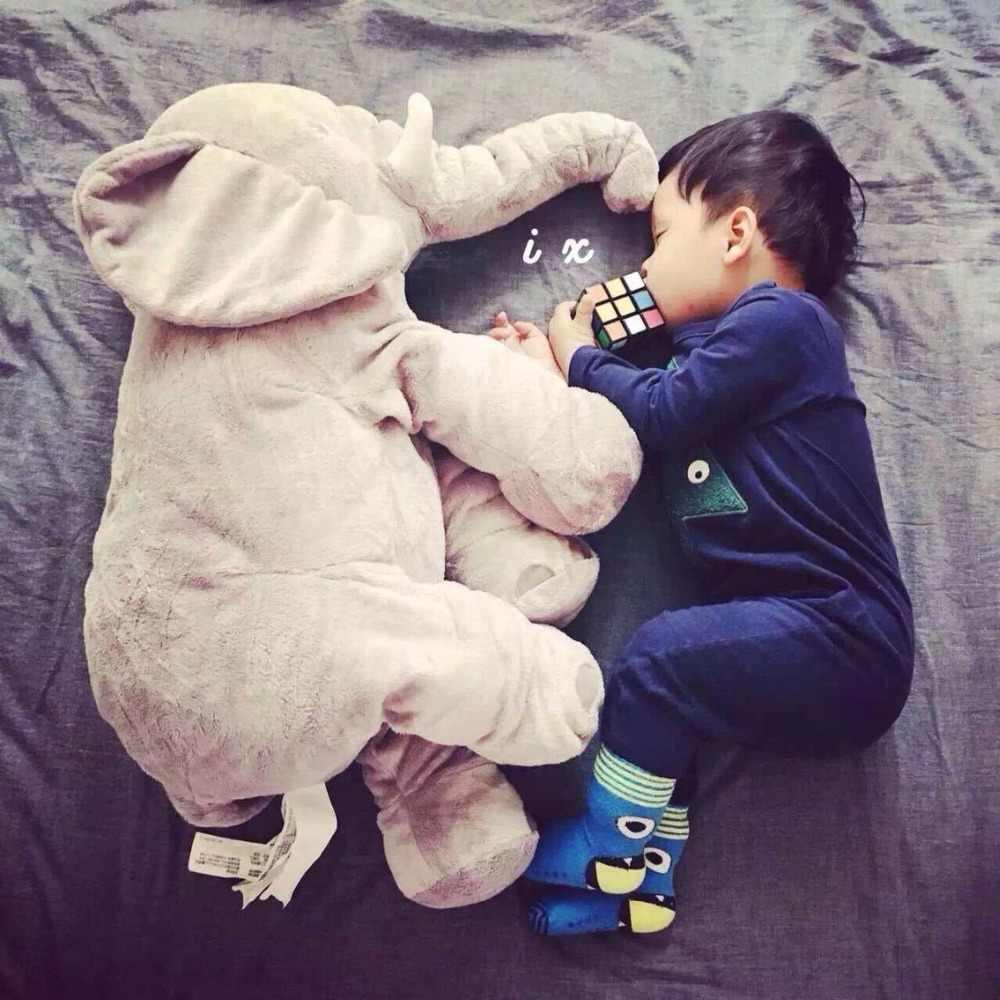 ホット素敵な 1 個 40 センチメートル/60 センチメートルなだめる象枕ソフト睡眠ぬいぐるみぬいぐるみベビー遊び子供のためのギフト