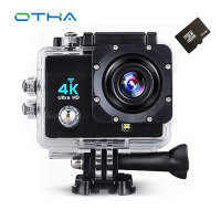 4K Video Camera Full HD 1080p 60fps WiFi 2 0 LCD 170 Degree Action Cam 30M