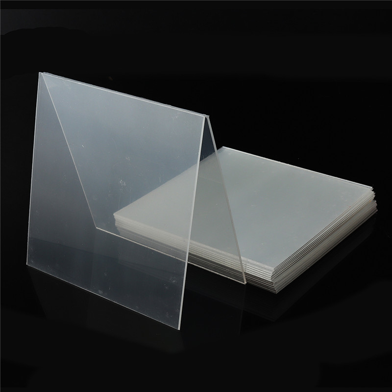 1bag Dental Splint 1/1.5/2mm Thermoforming Material Sheet Oral Denture Model Mold Slice For Vacuum Forming Hard 127*127mm
