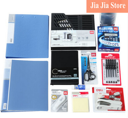 Desktop Office stationery combination 12 set for student zakka school supplies(tt-4387) zakka