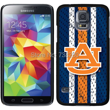 University Auburn Samsung Galaxy S5 Cases With Primary Football Basketball State Mark Design