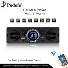 Podofo AV252B Auto Radio Stereo Bluetooth del Giocatore di Telefono 1din In-dash AUX-IN MP3 FM/USB/SD telecomando controllo 12 v Car Audio Autoradio