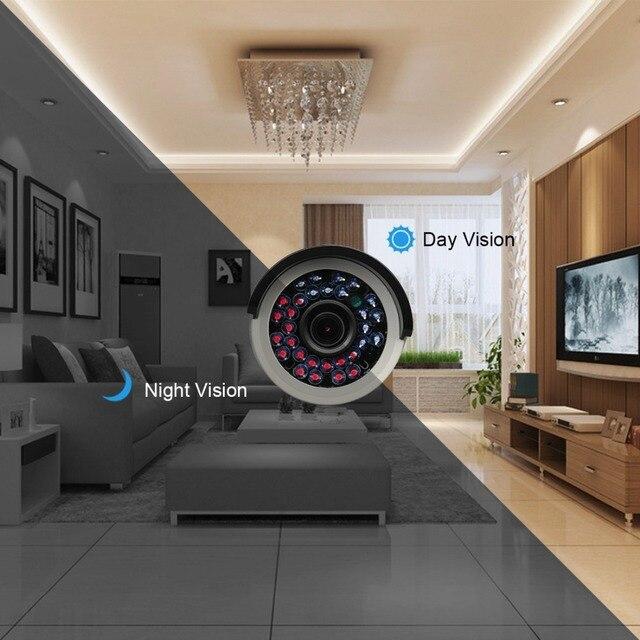 Techage 8CH 1080P HDMI POE NVR Kit CCTV System 2.0MP Indoor Outdoor PoE IP Camera Waterproof P2P Video Security Surveillance Set