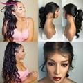 8A Wavy Full Lace Human Hair Wigs For Black Women Wet Wavy Virgin Brazilian Front Lace Wigs Glueless Lace Front Human Hair Wigs