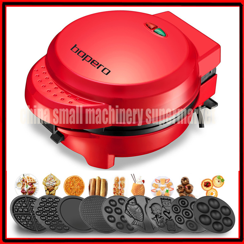 Multifunction Nonstick Electric Double Sided Frying Pan