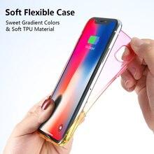 Glitter Gradient Phone Case iPhone 5 6 6S Plus 7 8 Plus X 10