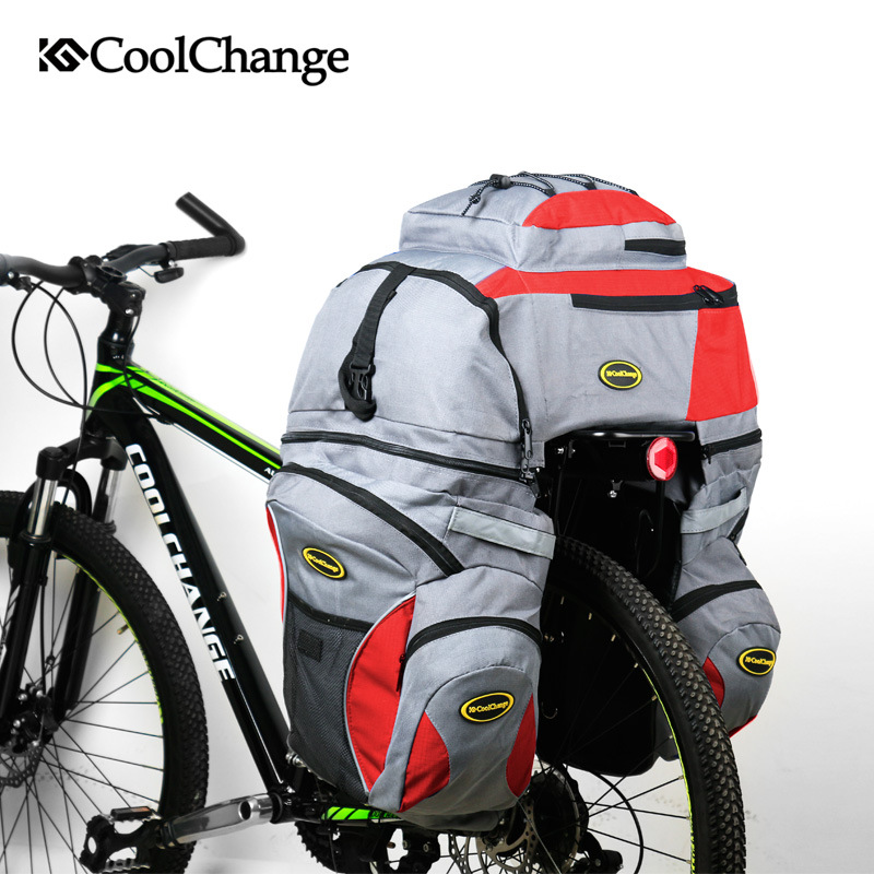 ФОТО Brand Multifunctional Cycling Bicycle Luggage Bag Mountain Bike Bag  Big Capacity  Bulk Riding Package for Long Trip