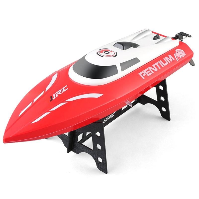 купить JJRC Self-Righting Portable Mini RC Boat S1 S2 S3 Remote Control Speedboat 2.4GHz 2CH 25KM/H RC Ship New Arrival Kids Toy недорого