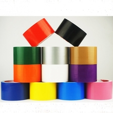 Color tape - Diy decoration, black red strong waterproof strong color tape tape, suitable for home decoration 10M length LYQ-043
