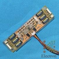 New 6 Lamp Backlight Laptop LCD CCFL Inverter Board 293 50mm Input 12V For 10 26