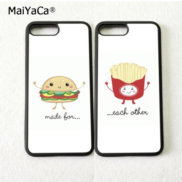 best phone cases for iphone 5s burger buddy fry bff best friends soft silicone phone 8846