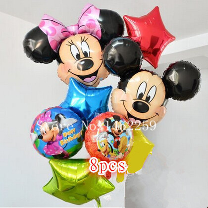 Home & Garden Xxpwj Free Shipping 18-inch Bears And Tigers Aluminum Balloons Birthday Party Decoration Balloon Childrens Toys Wholesale I-033