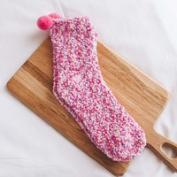 Fashion 12 Pairs Women Lady Socks Soft Warm Breathable Elasticity Cute Comfortable For Winter GM
