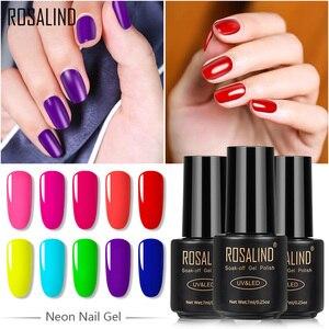 ROSALIND Neon Nail Gel Polish
