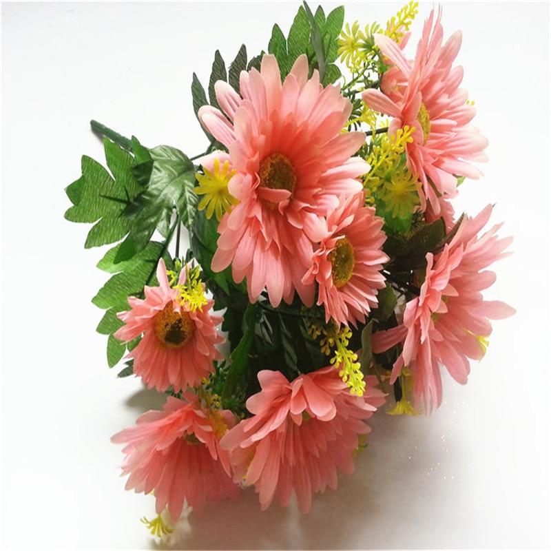 Gerbera Flower Wedding Bouquets: Gerbera Flower Bouquets Silk Flower Wedding Decoration T