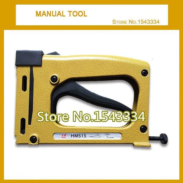 manual stapler manual nailer hm515 frame tacker with 1000pcs stapleschina mainland