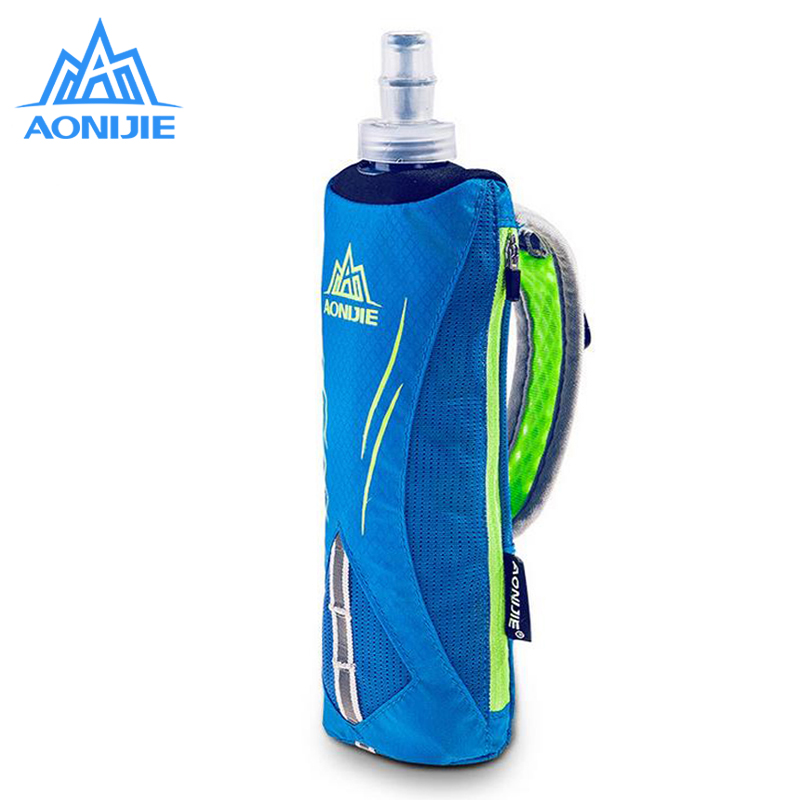 AONIJIE Running Nylon Marathon Kettle Pack Outdoor Sports Bag Men Hiking Cycling Running Hand Hold Kettle Bag With Water Bottles стоимость