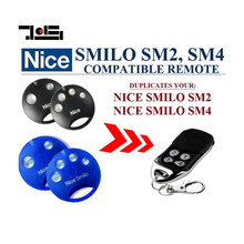2pcs 2018 Newest High quality and favorable price! Nice SMILO SM2,SMILO SM4 replacement garage door remote control(China)