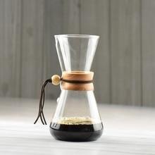 NEUE ANKUNFT Freies Verschiffen 3 Tassen Gezählt Chemex Stil Siphon Kaffeemaschine Tropf Topf Eistropfenfänger-kaffeemaschine Maker CHEMEX