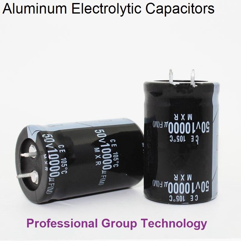 5pcs EC3B Good Quality 50v10000uf Radial DIP Aluminum Electrolytic Capacitors 50v 10000uf Tolerance 20% Size 30x40MM 20%