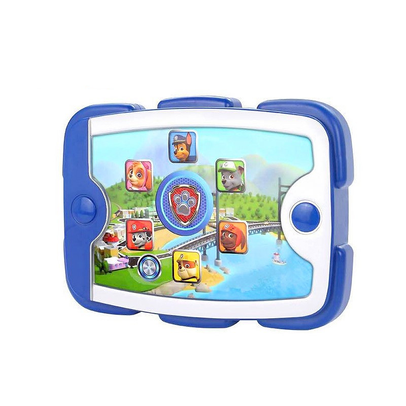 Paw Patrol Ryder's Tablet Chinese Music Rescue Base Patrulla Canina Dogs Set Action Figure Model Toy Children's Gift