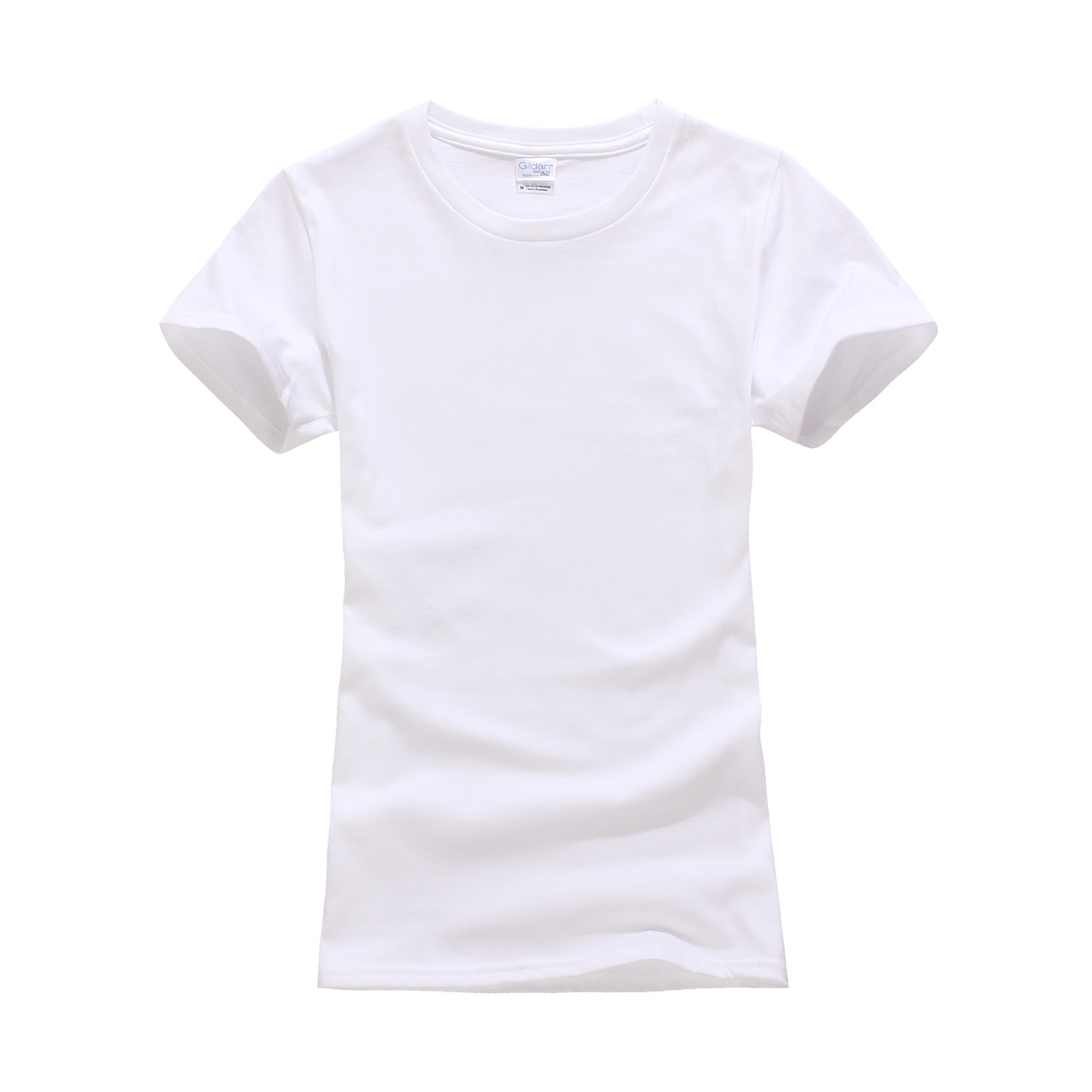 Plain white shirts cheapest t shirt jpg - 100 Cotton 2 Colors Ladies Plain Tshirt Short Sleeve Gildan Tees Women Casual Blank T