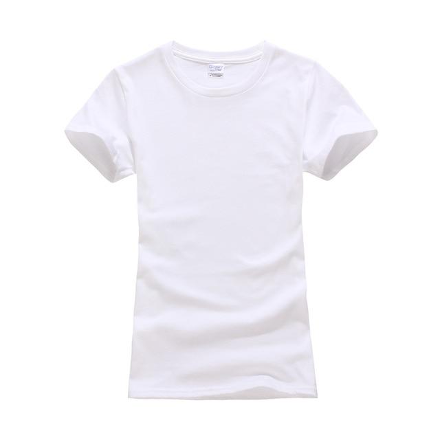 Tshirt Tees Dames Gildan Vlakte Katoen 2 Korte 100 Mouw Kleuren w8qzXAt