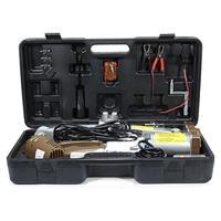 5 Ton 12V Electric Scissor Jack Lift Stand Car Lifter Automotive Remote Hoist