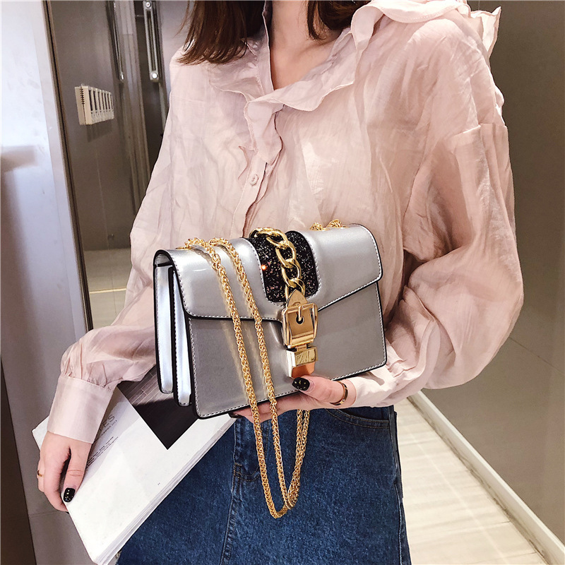 Ladies Crossbody Summer Bag Shoulder Luxury Designer Handbags Women Leather Jelly Chain Samll Bags Girl Messenger in Top Handle Bags from Luggage Bags