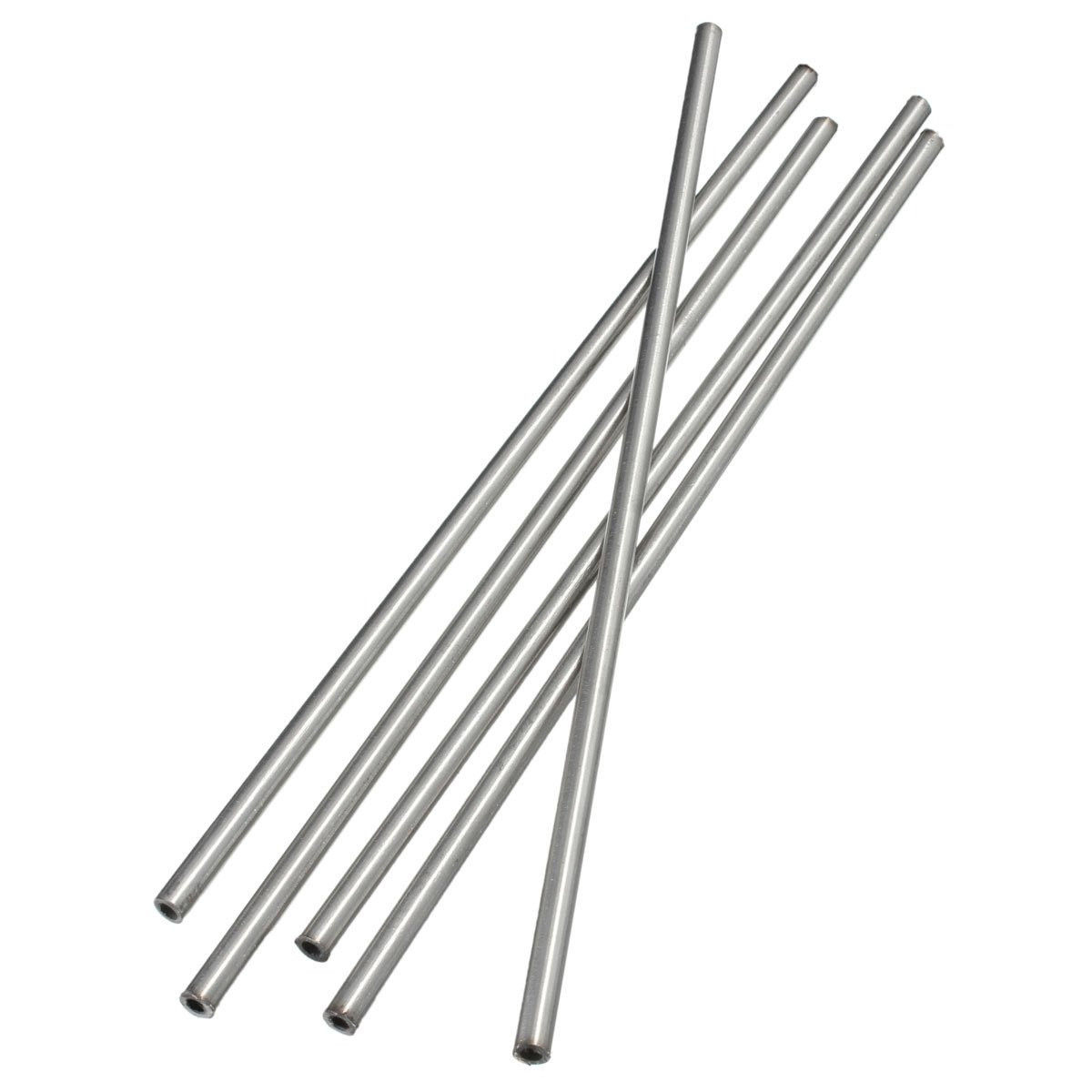 1pc Mayitr 304 Seamless Stainless Steel Capillary Tube With High Temperature Resistance 6mm OD 4mm ID 250mm Length