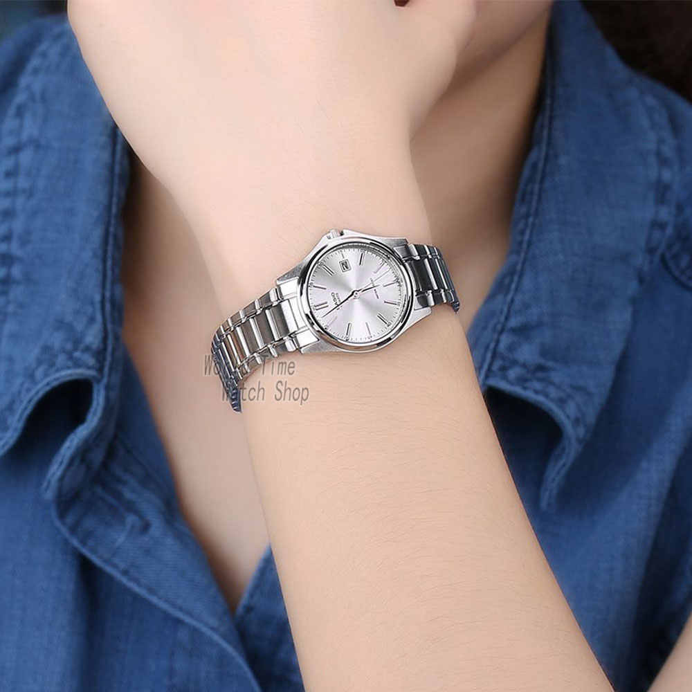 A AguaCasio Pequeño Para Reloj Y 1183 Prueba De Cuarzo MujerCuarzoSimple Ltp OPkiZuwXTl