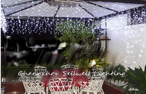 2017 Rushed Artificial Christmas Tree Great!white Holiday Lighting Courtyard Clothing Shop Stairs Decoration Led Lamp H006(7) artificial christmas tree great led christmas light showcase entrance decoration 5m coloured butterfly bead curtain lamp h127
