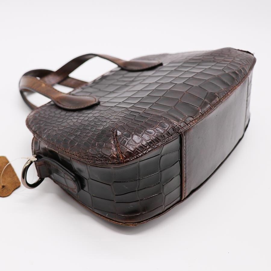 Alligator Genuine Leather Shell Small Handle Cross Body Shoulder Messenger Bag Ladies Handbag Totes Pack