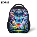 FORUDESIGNS Small School Bags For Baby Boys Girls 3D Undertale Printing Children Book Bags Kindergarten Mochila Backpacks Kids