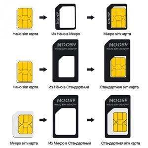 Image 4 - 50pcs/lot 4 in 1 Nano SIM Card Adapters Micro SIM Adapters Standard SIM Card Adapter Eject Pin For iphone 4 4S 5 6 6S All Phones
