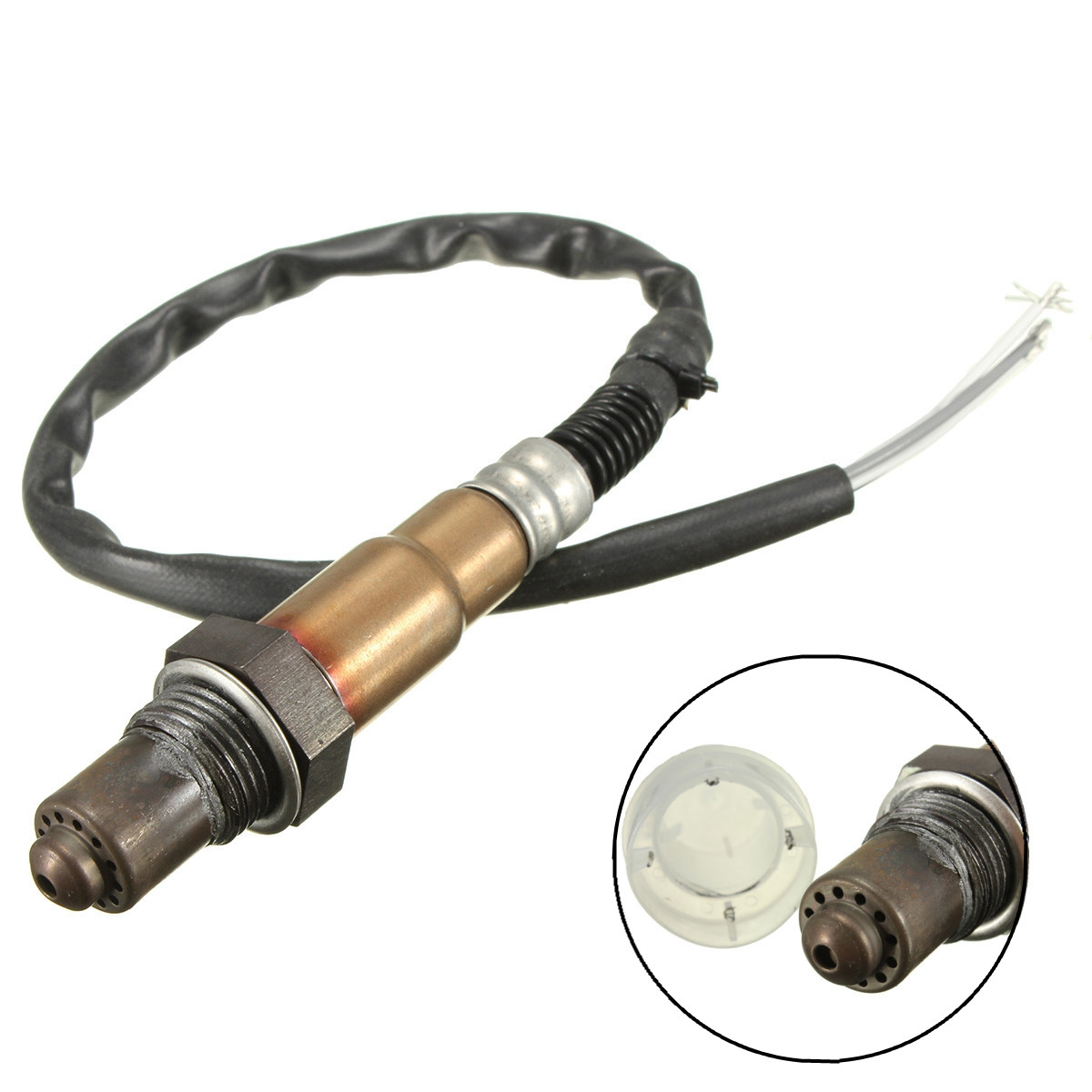 цена 4 Wire Universal O2 Oxygen Sensor For Citroen For Ford /Hyundai Renault Volvo /VW /Lambda O2 Sensor 0258986602