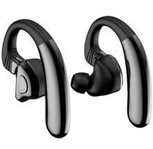 RIKYA Q9S СПЦ Bluetooth V5.0 Bluetooth наушники Спорт Hifi наушники стручки Беспроводной наушники с ушным крючком для телефона