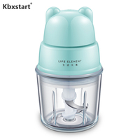 Kbxstart Multifunctionele Baby Voedingssupplement Mini Elektrische Voedsel Vlees Mixer Molen Keukenmachine Thuis Keuken Koken Machine