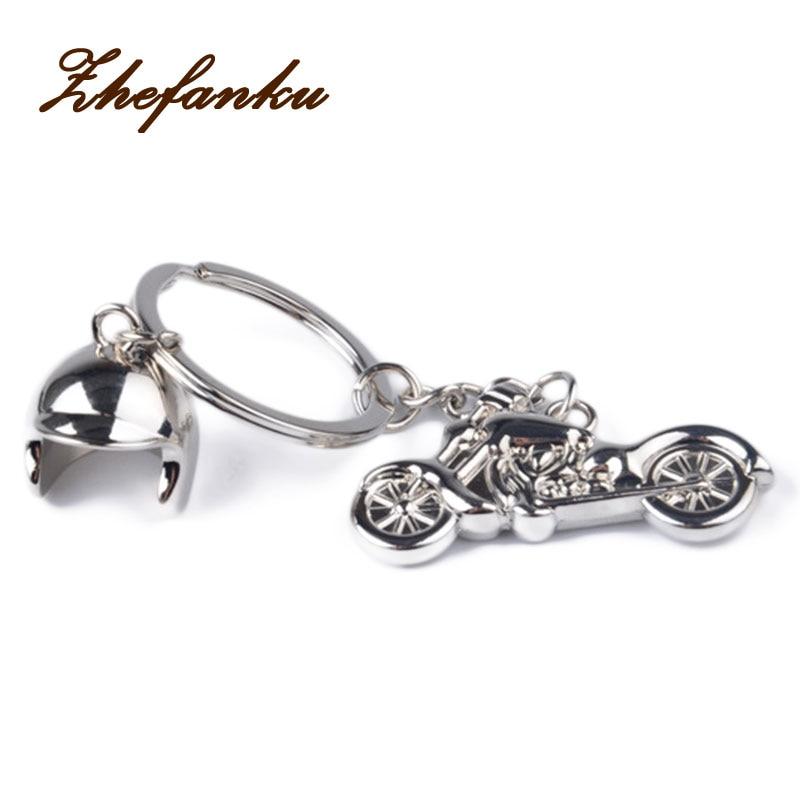NEW 1PC Mini Motorcycle and Helmet Motorbike Cool Keychain Key Chain Ring Keyring Keyfob Creative Party Gift mini motorcycle helmet keychain cute keyring