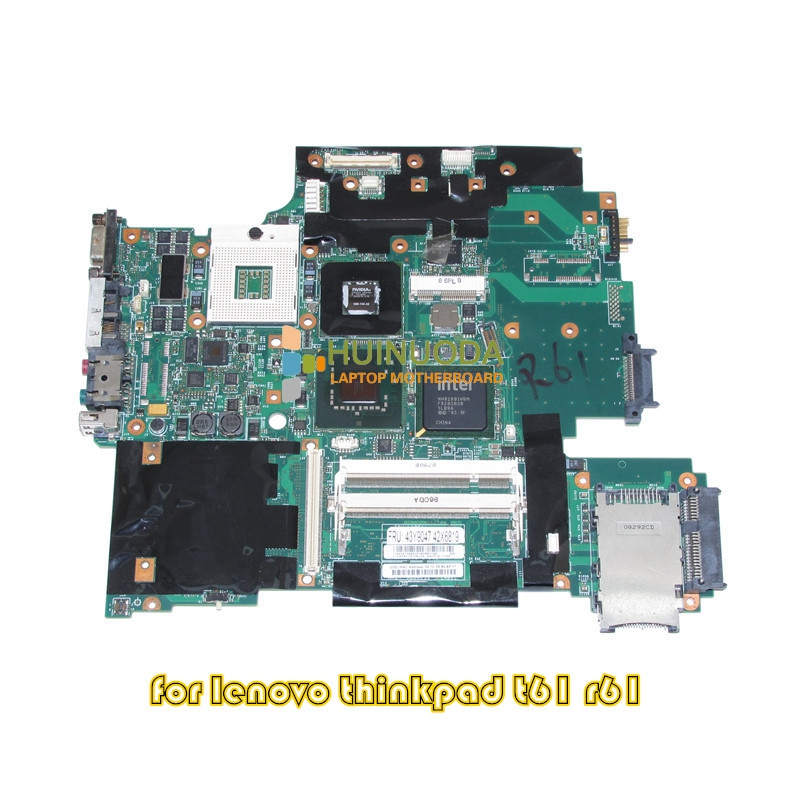 43Y9047 42W7652 11S42X6803 Main Board For Lenovo IBM thinkpad R61 T61 15.4 Laptop Motherboard 965PM G86-740-A2 128M DDR2 цена
