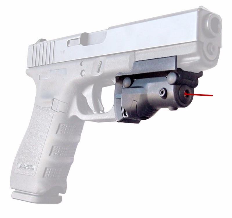 Tactical Hunting Red Dot Glock Laser Sight 5mw Laser for Pistol Handgun Rifle Glock Gun Glock 19 23 22 17 21 37 31 20 34 35 37