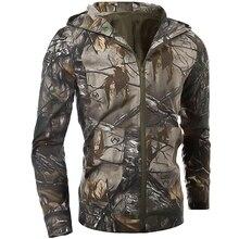 дешево!  Новый Зимний Камуфляж Мужское Пальто Джунгли Стелс Спорт На Открытом Воздухе С Капюшоном Повседневн