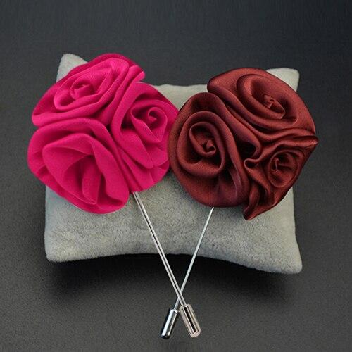 ⊰Для мужчин нагрудные Роза цветок ромашка ручной работы ...
