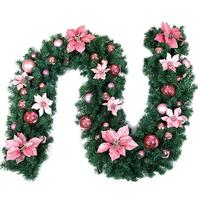 2.7 M Christmas Rattan Garland Multicolor Bell Christmas Hotels Shopping Malls Evenings Home Decorations