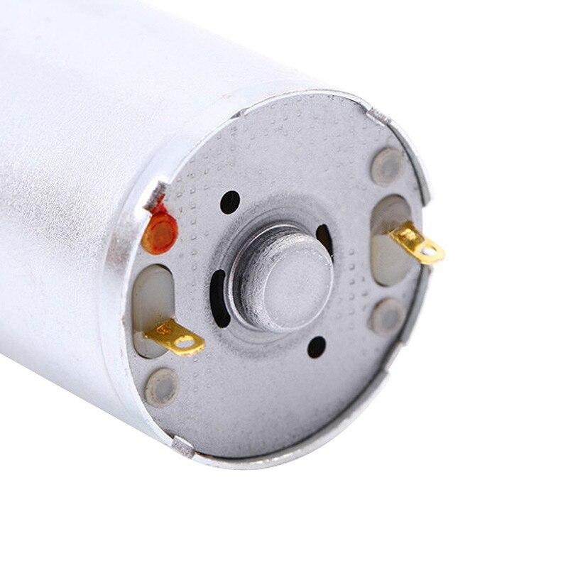 CHANCS 370 WG Moteur /à engrenage sans fin 3 V DC 3 RPM Mini turbine avec support de moteur fixe