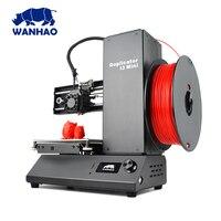 2018 Wanhao самые низкие заводские цены, прямые маркетинг FDM DIY рабочего 3d принтеры машины i3 мини бесплатная нити