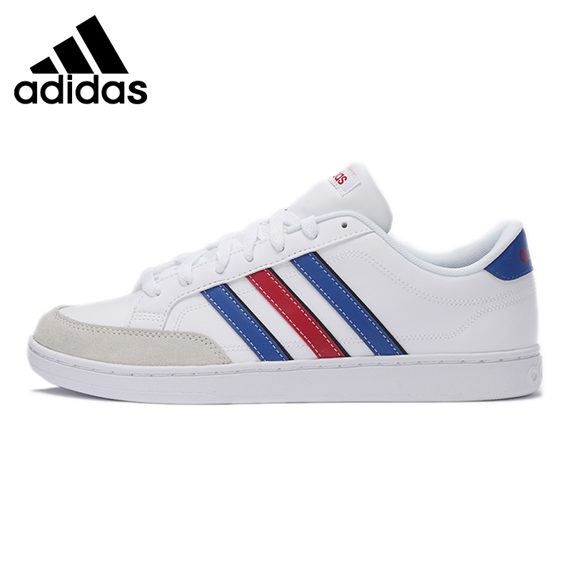 Official Original Adidas NEO COURTSET Men's Low Top Skateboarding Shoes Sports Outdoor Sneakers Hard-Wearing Flat Thread F99257 adidas official new arrival neo courtset men s low top skateboarding shoes sneakers aw4621 f99257