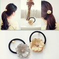 New Korean Style Hair Band Metal multilayer Flower Rhinestone Hair Ring Partysu Hair Accessories